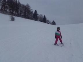 první lyžování 2016 (2)